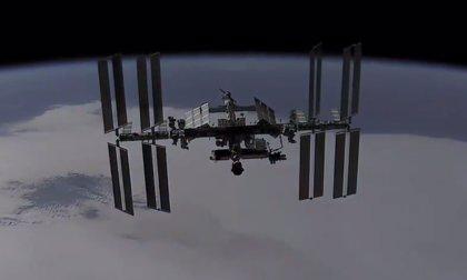 VÍDEO La Estación Espacial desde una nave Dragon en aproximación
