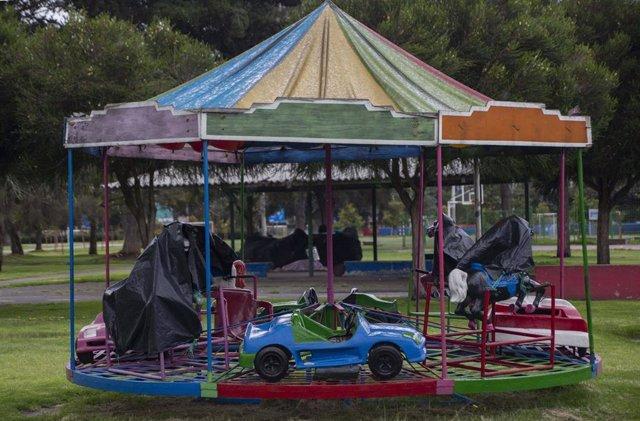 Parque cerrado en Quito