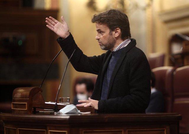 El president del Grup Parlamentari Unides Podem i líder d'En Comú Podem, Jaume Asens.
