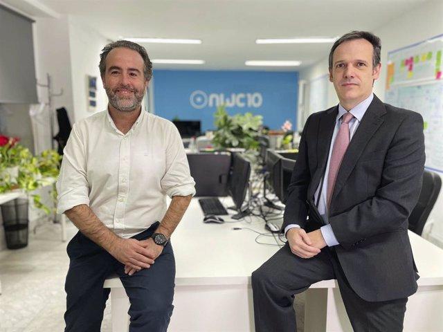 Tomás García-Merás en las oficinas de NWC10Lab