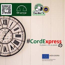 CordExpress: 'A punto y en su punto'