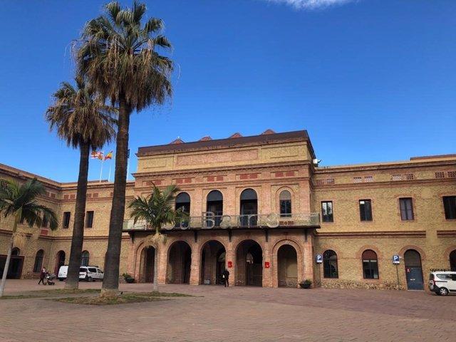 Seu municipal del districte barceloní de Nou Barris.