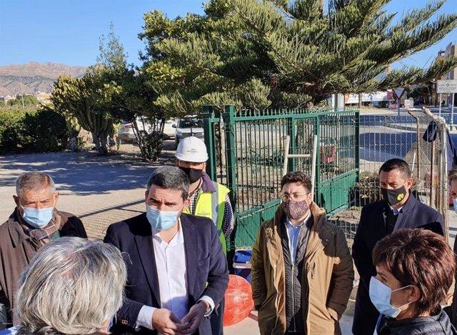 Nota+Sonido+Foto/ La Comunidad Finaliza Las Obras De Los Colectores De Saneamiento Y Recogida De Pluviales En El Casco Urbano De Beniel