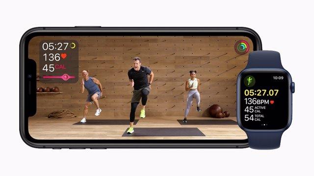 Apple Fitness+.