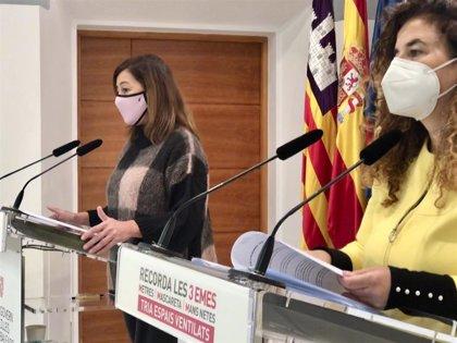 Un total de 42 grupos de centros educativos de Baleares está en cuarentena por la COVID-19