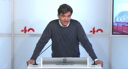 """ERC pide al Parlament """"expresarse"""" sobre la amnistía y anuncia un futuro texto en el Congreso"""