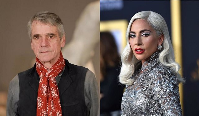 Jeremy Irons protagonizará junto a Lady Gaga una película sobre el asesinato de Gucci