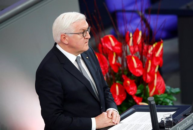 El presidente de Alemania, Frank Walter Steinmeier.
