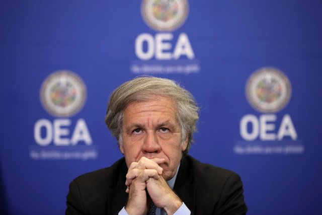 El secretario general de la Organización de Estados Americanos (OEA), Luis Almagro