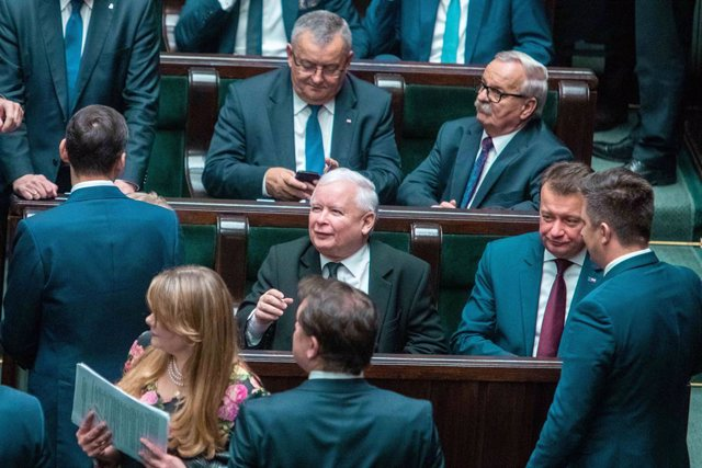 El viceprimer ministro de Polonia, Jaroslaw Kaczynski.