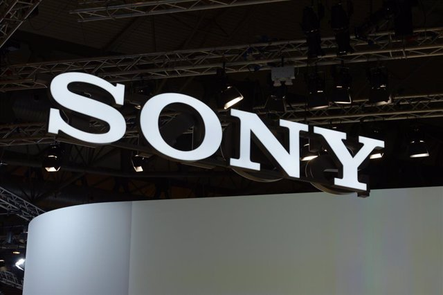 FILED - 27 February 2017, Spain, Barcelona: A general view of the logo of Japanese elctronics company Sony at the Mobile World Congress in Barcelona. Sony said Wednesday its net profit for the January-to-March period plummeted 85.6 per cent from a year ea