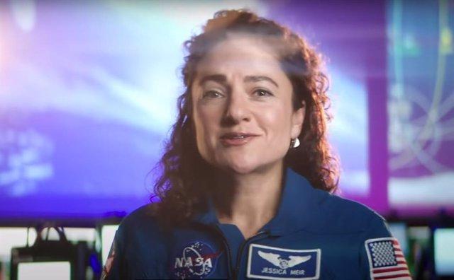 Jessica Mier, una de las integrantes del equipo Artemisa de la NASA