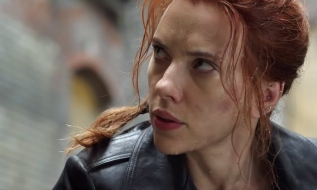 Scarlett Johansson en Viuda Negra (Black Widow)