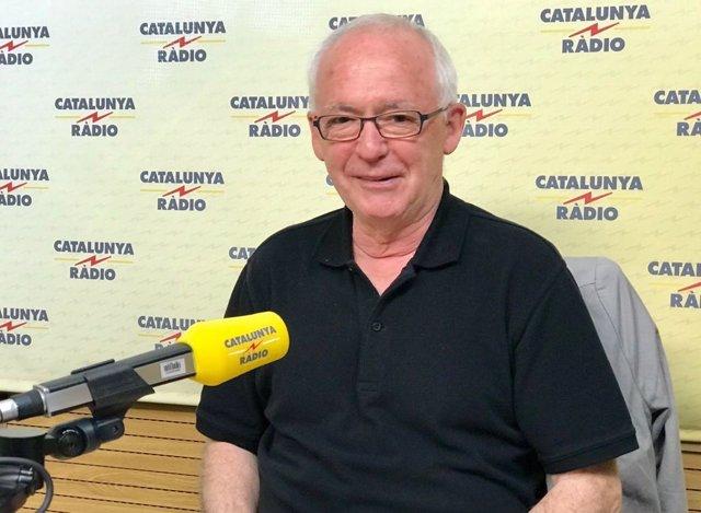 Joseba Azkarraga a Catalunya Ràdio.