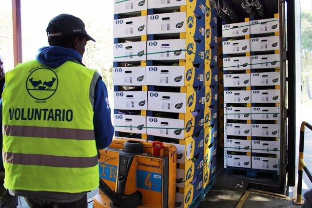 Alimentacion.- Plátano de Canarias contribuye con 330.000 kilos a la Gran Recogida de los Bancos de Alimentos