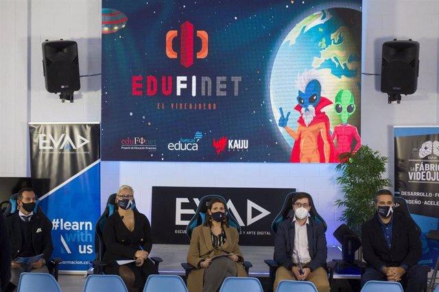 Presentación del Proyecto Edufinet a la comunidad educativa