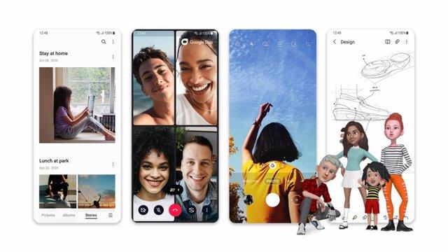 One UI 3.0 de Samsung.