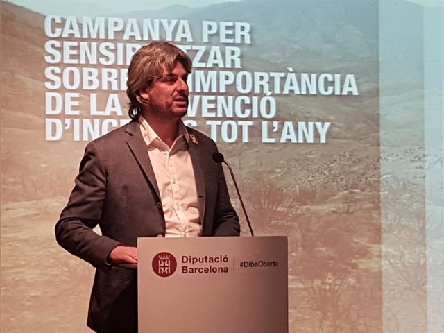 El vicepresident de la Diputació de Barcelona, Dionís Guiteras.