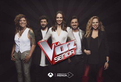 Llega a Antena 3 la nueva edición de 'La Voz Senior' con doblete en jueves y viernes