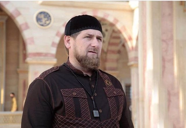 Ramzan Kadírov, presidente de la república rusa de Chechenia
