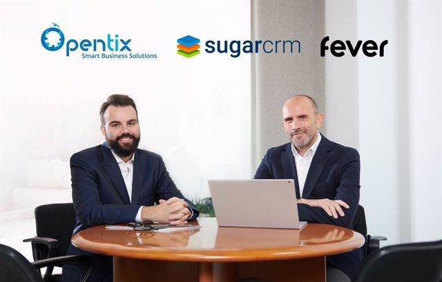 Daniel Segarra y Jorge Torres, director ejecutivo y director general