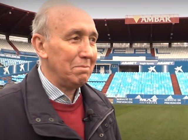 Manolo González, exjugador del Real Zaragoza
