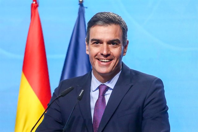 El presidente del Gobierno, Pedro Sánchez, presenta el Programa Misiones de Ciencia e Innovación, en el Museo de Ciencia y Tecnología (MUNCYT), en Alcobendas, Madrid (España), a 9 de diciembre de 2020. Se trata de un programa destinado a apoyar Iniciativa