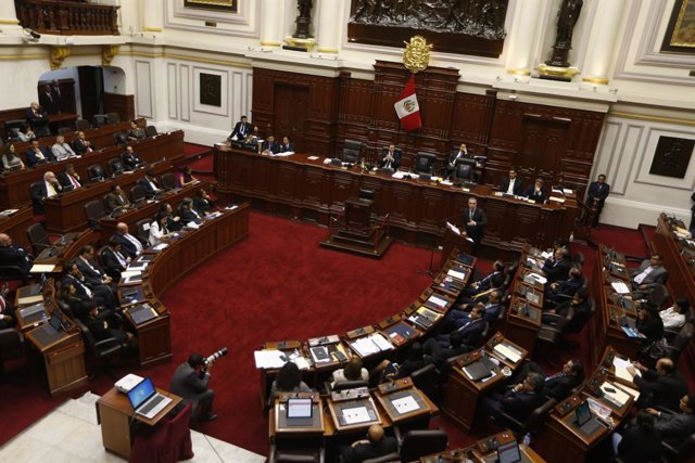 Imagen de archivo del Congreso de Perú.