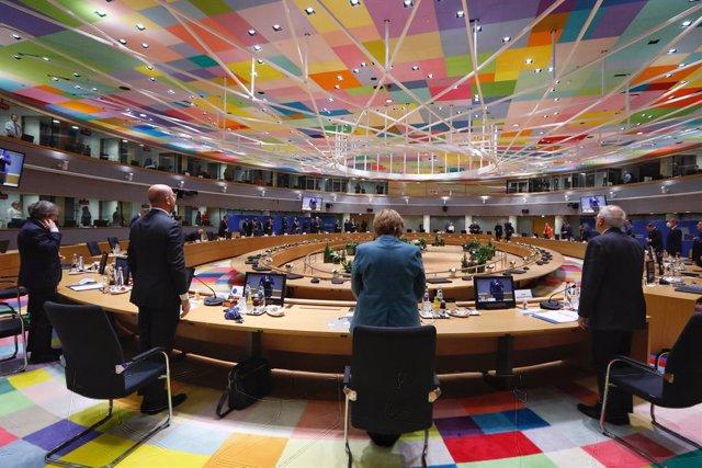 Minut de silenci en la Cimera de la UE en record de Valéry Giscard d'Estaing