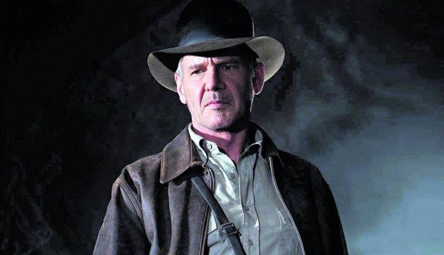 Imagen de Harrison Ford como Indiana Jones, su mítico personaje