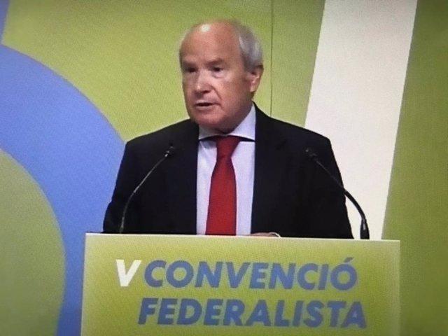 L'expresident de la Generalitat José Montilla.