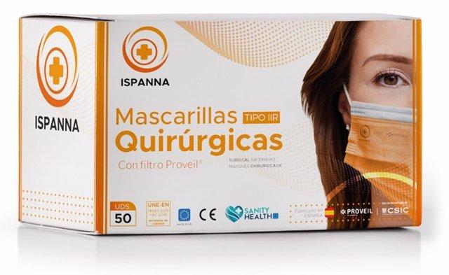 El CSIC, Bioinicia y Sanity Health crean la mascarilla 'Ispanna'