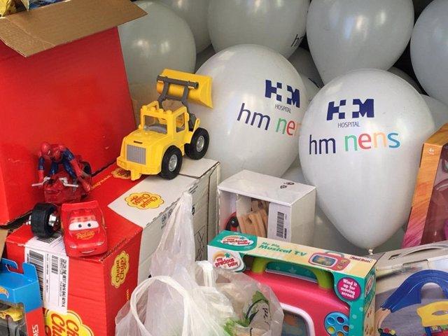 La Fundación HM Obra Social Nens pone en marcha su tradicional campaña de recogida de juguetes