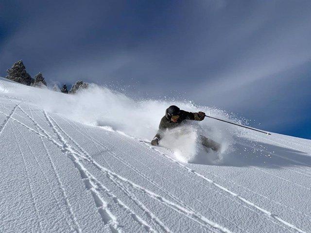 Estació d'esquí Baqueira-Beret.