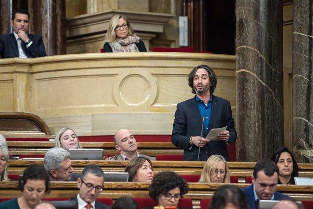 Carles Castillo al Parlament