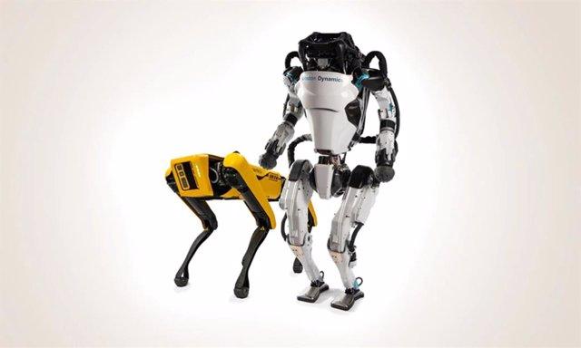 Robots de Boston Dynamics.