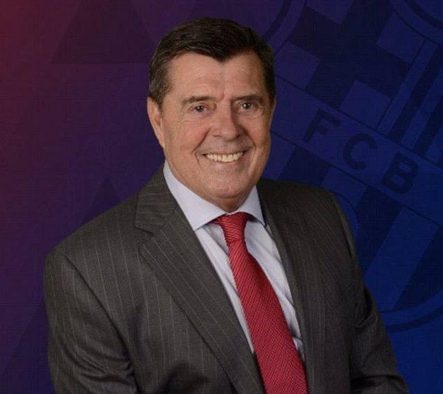 El miembro del consejo de 'Sí al Futur' Jordi Majó, integrante de la precandidatura de Víctor Font a la presidencia del FC Barcelona en las elecciones de enero de 2021