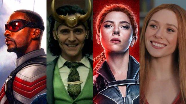 Calendario de estreno de todas las series y películas Marvel en cines y Disney+
