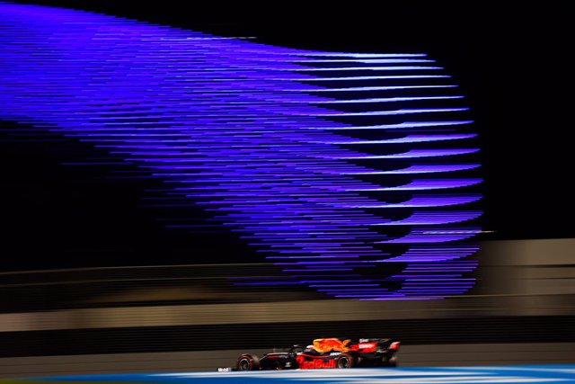 33 VERSTAPPEN Max (nld), Aston Martin Red Bull Racing Honda RB16, action during the Formula 1 Etihad Airways Abu Dhabi Grand Prix 2020, from December 11 to 13, 2020 on the Yas Marina Circuit, in Abu Dhabi - Photo Antonin Vincent / DPPI