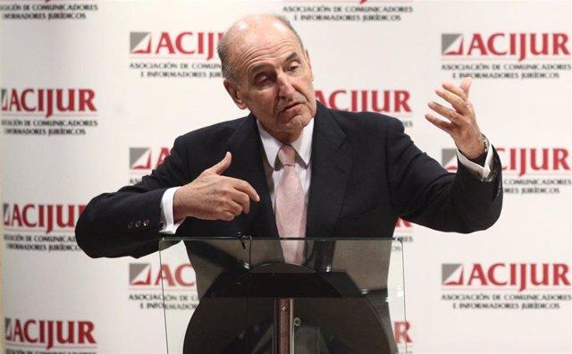 Uno de los padres de la Constitución Española, Miquel Roca.
