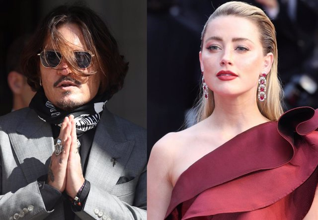US actor Johnny Depp court case in London