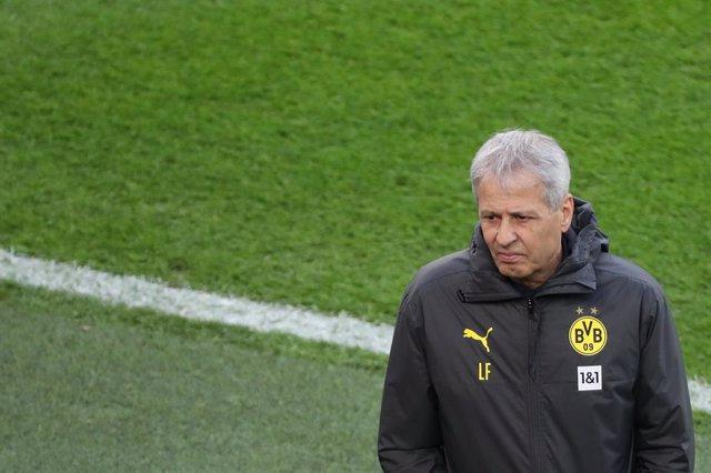 Lucien Favre com a tècnic del Borussia Dortmund
