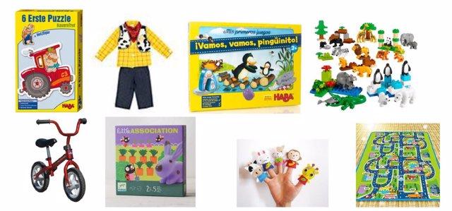 Juegos y juguetes por edades: 2 años