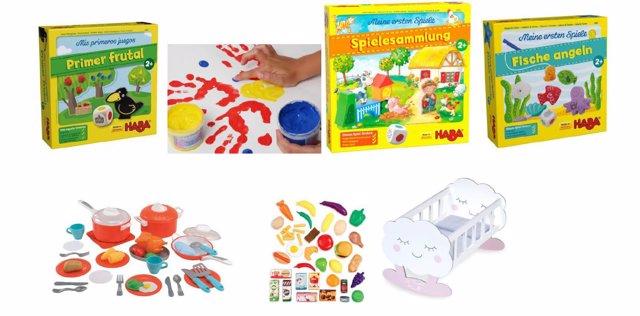 Juegos y juguetes para bebés y niños de 2 años