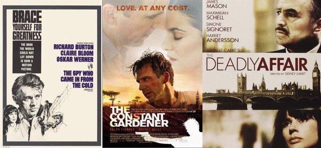 Adaptaciones cinematográficas y televisivas de John Le Carré