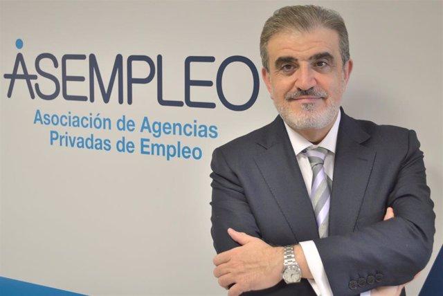 Andreu Cruañas, presidente de la patronal de agencias privadas de empleo, Asempleo