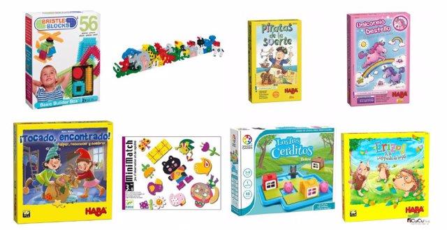 Juegos y juguetes para niños de 3 años