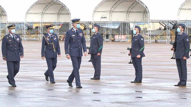 El Rey Felipe VI en la Base Aérea de Talavera la Real