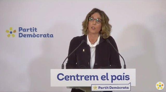 La candidata del PDeCAT a les eleccions catalanes, Àngels Chacón.