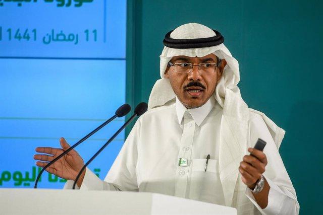 El portavoz del Ministerio de Sanidad de Arabia Saudí, Mohamed al Abdelali